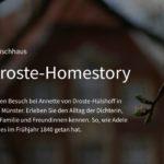 Multimedia-Special: Die Droste-Homestory