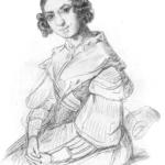 """""""Adele Schopenhauer 1841"""" von Alexander von Sternberg (1806–1868), Quelle: Wikipedia"""