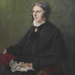 Amalie Hassenpflug auf einem Gemälde von Karl Christian Andreae (1848). Quelle: Wikipedia