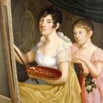 Caroline Bardua: Johanna und Adele Schopenhauer (1806). Quelle:  Wikipedia