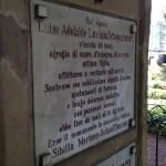 Adele Schopenhauers Grab in Bonn: Den Stein widmete ihr die Lebensgefährtin Sibylle Mertens-Schaffhausen. Foto: Monika Gemmer