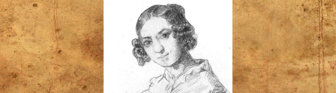 Adele Schopenhauer. Porträt von Alexander von Sternberg (1841). Quelle: Wikipedia