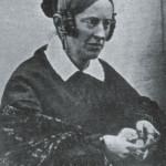 Annette von Droste-Hülshoff auf einer Daguerreotypie von Friedrich Hundt, 1845